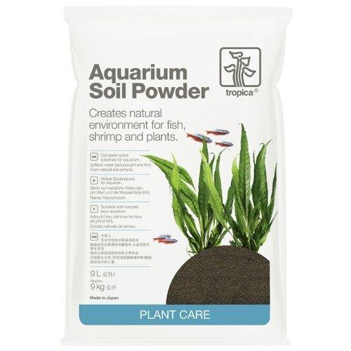 Грунт Tropica Aquarium Soil Powder 9 л, 9 кг черный