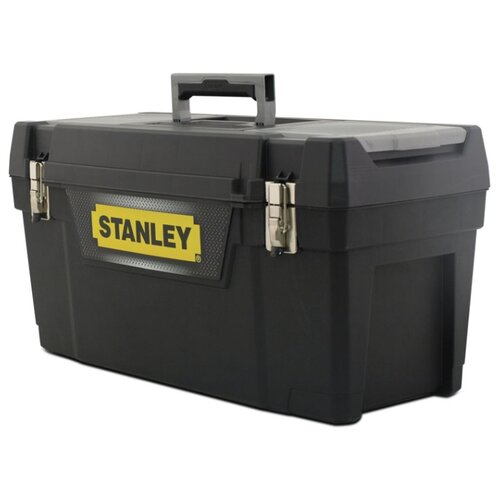 Ящик с органайзером STANLEY 1-94-858 50.8x24.9x24.9 см черный ящик с органайзером stanley 1 92 734 35 9x32 5x13 6 см черный