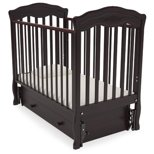 Кровать детская GANDYLYAN К-2003-2м Шарлотта маятник универсальный (махагон) gandylyan кроватка gandylyan дашенька маятник универсальный орех