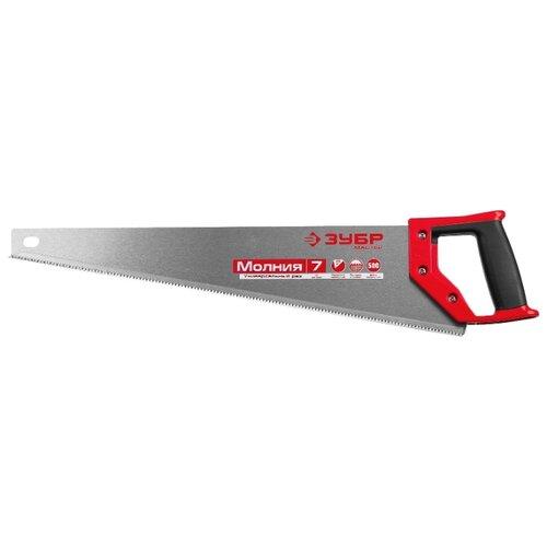 цена на Ножовка по дереву ЗУБР Молния-7 1537-50_z01 500 мм