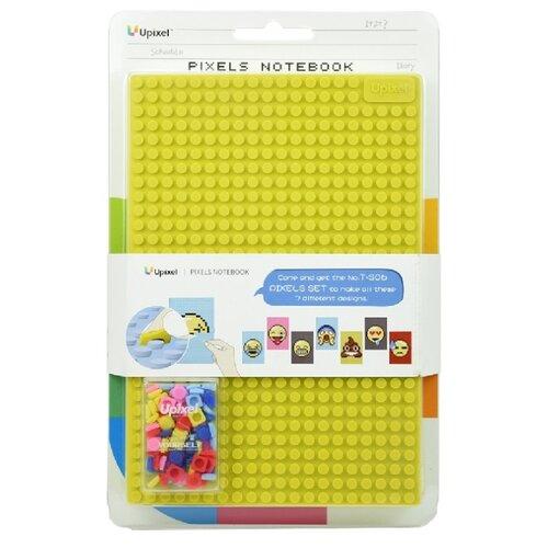 Блокнот Upixel WY-K002 желтый, 21x14.5 (100 листов) клатч upixel soho envelope clutch wy b010 серый голубой