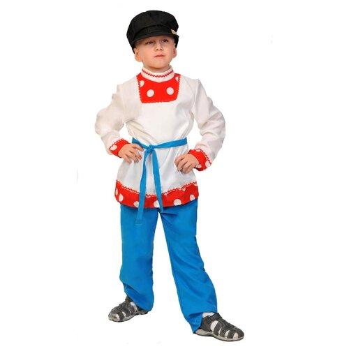 Купить Костюм КарнавалOFF Иванушка (5017), синий/белый, размер 128-134, Карнавальные костюмы