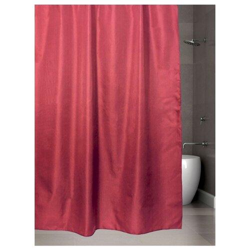 Штора для ванной Bath Plus Hilton TL 180х200 бордовый штора для ванной joyarty праздничная карта 180х200 sc 5822