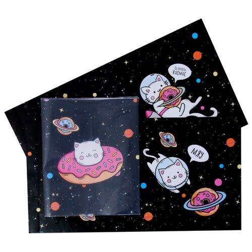 Ukid MARKET Обложки со вставками «Котики», 30×50 см