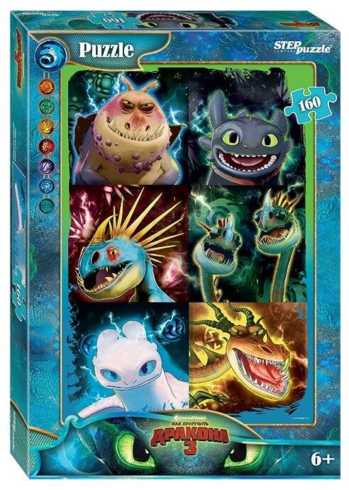 Пазл Step puzzle DreamWorks Как приручить дракона - 3 (94088), 160 дет.