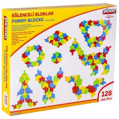 Купить Конструктор pilsan Funny Blocks 03-298, Конструкторы