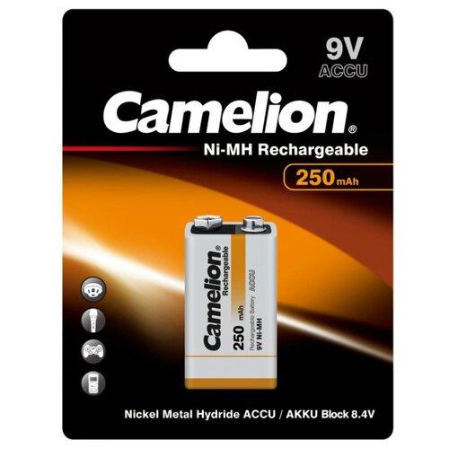 Фото - Аккумулятор Ni-Mh 250 мА·ч Camelion NH-9V250 1 шт блистер аккумулятор
