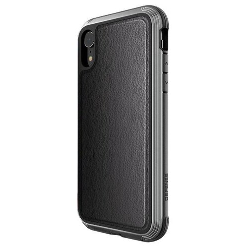 Чехол X-Doria Defense Lux для Apple iPhone XR черная кожа