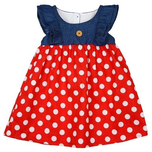 Платье Mini Maxi размер 110, красный платье oodji ultra цвет красный белый 14001071 13 46148 4512s размер xs 42 170