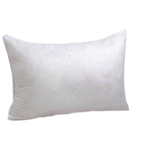 Подушка Василиса лебяжий пух/глосс-сатин 50 х 70 см белый подушка для кормящих smart textile мамина радость с наволочкой наполнитель искуственный лебяжий пух 66 х 34 х 36 см