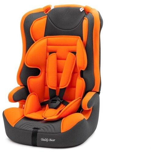 Автокресло группа 1/2/3 (9-36 кг) Мишутка LB 513RF, 21 orange/black dot группа 1 2 3 от 9 до 36 кг actrum lb 513c