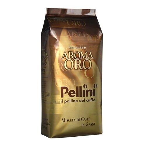 Кофе в зернах Pellini Gusto Intenso Aroma Oro, арабика/робуста, 1 кг кофе в зернах kami lespresso oro 1 кг