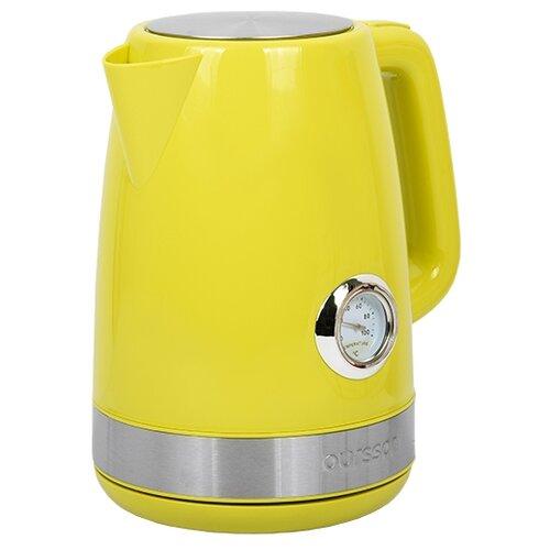 Фото - Чайник Oursson EK1716P, желтый чайник oursson ek1760m 1 7l red