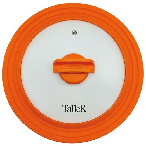 Крышка Taller TR-8007 (28 см) прозрачный/оранжевый