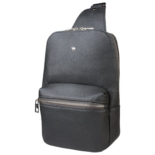 Рюкзак Dimanche 818, натуральная кожа, серый рюкзак dimanche dimanche di042bwbzyt0
