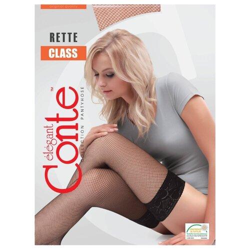Чулки Conte Elegant Class Rette-Micro, размер 1/2, bronz (коричневый)