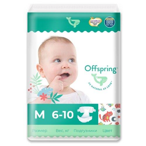 Offspring подгузники M (6-10 кг) 42 шт. котикиПодгузники<br>