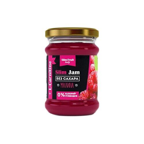 Джем Slim Fruit Family Малина без сахара +L-carnitine, банка 250 мл