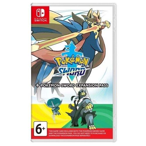 Игра для Nintendo Switch Pokémon Sword + Expansion Pass английский язык