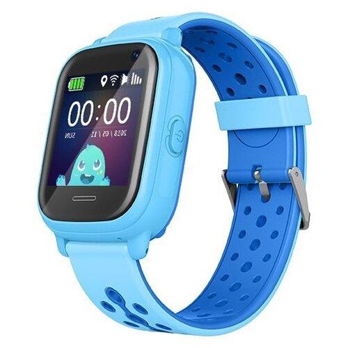 Детские умные часы Smart Baby Watch KT04, голубой умные часы smart baby watch s4 голубой