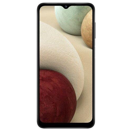 Смартфон Samsung Galaxy A12 3/32GB, черный смартфон samsung galaxy a12 sm a125 3 32gb черный