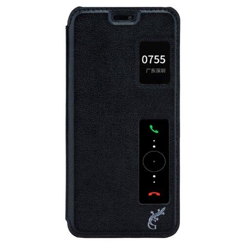 Чехол-книжка G-Case Slim Premium для Huawei P20 Pro (книжка) черный чехол книжка smarterra shellcase sc18hp20lbk для huawei p20 lite черный