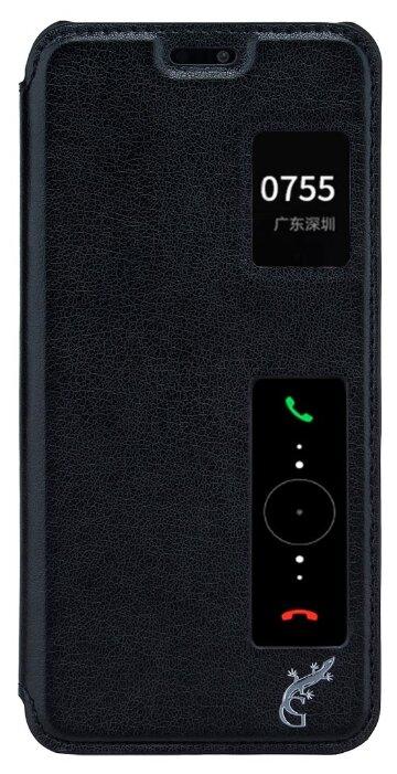 Купить Чехол-книжка G-Case Slim Premium для Huawei P20 Pro (книжка) черный по низкой цене с доставкой из Яндекс.Маркета (бывший Беру)