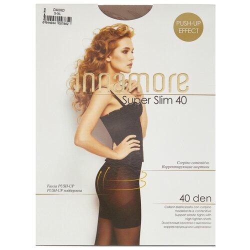Колготки Innamore Super Slim 40 den, размер 5-XL, daino (коричневый) колготки innamore ottima 20 den размер 4 l daino коричневый