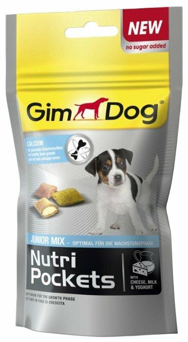 Лакомство для собак GimDog Nutri Pockets Junior Mix