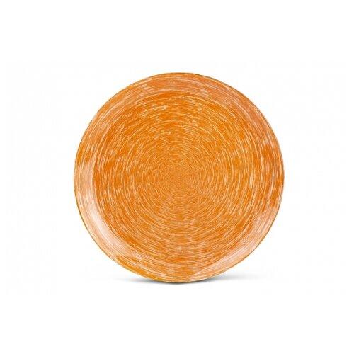 тарелка обеденная luminarc maritsa purple 26 см Luminarc Тарелка обеденная Brush Mania 26 см orange