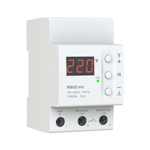 Реле контроля напряжения RBUZ D-32 реле контроля напряжения rbuz d2 40