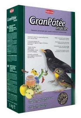 PADOVAN GranPatee insectes Корм для насекомоядных птиц с насекомыми 1 кг. (01937)