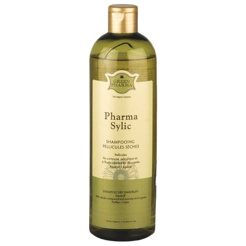 GreenPharma шампунь Sylic от перхоти для частого применения 500 млШампуни<br>