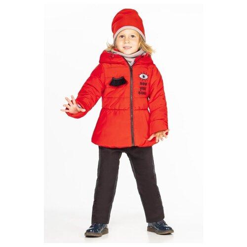 Комплект с брюками BOOM! by Orby размер 86, красный комплект с брюками boom 90566 bob размер 104 56 51 черный