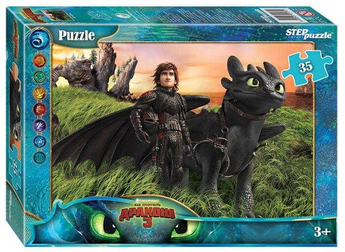 Пазл Step puzzle DreamWorks Как приручить дракона - 3 (91174), 35 дет.