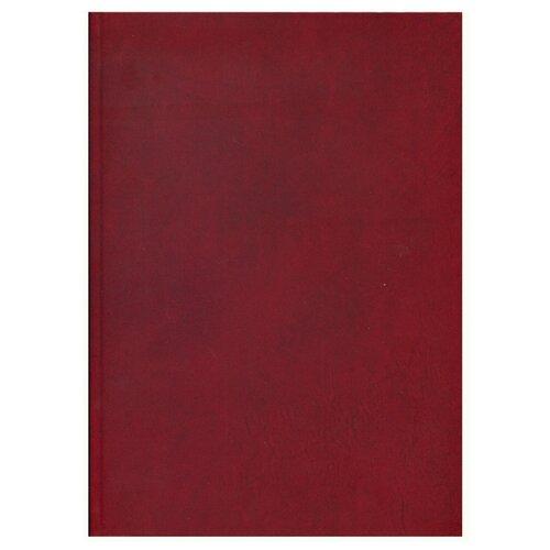 Купить Ежедневник Проф-Пресс 136-1518недатированный, А4, 136 листов, бордо, Ежедневники, записные книжки