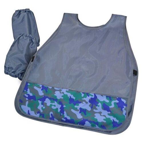 Купить BG фартук-накидка с нарукавниками SPARTA (ФНТ_пэ 4443) голубой, Одежда для уроков труда