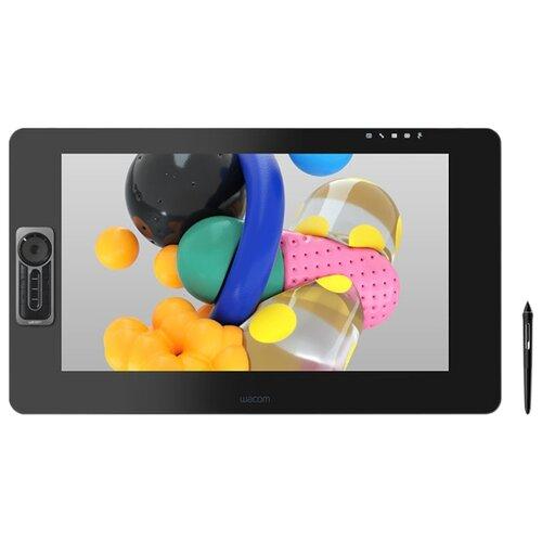 Графический планшет WACOM Cintiq Pro 24 (DTH-2420) черный российская графический планшет wacom mobile studio pro 13 dth w1320l ru