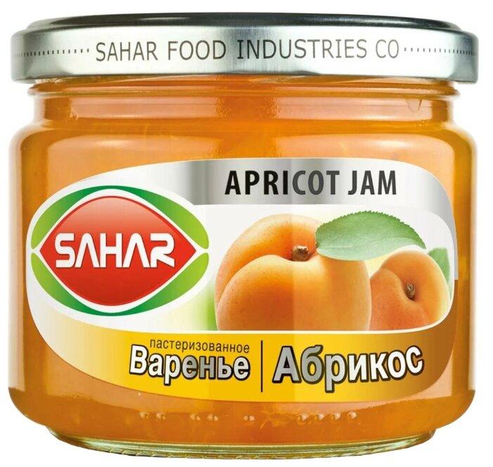 Варенье SAHAR из абрикосов, банка 390 г