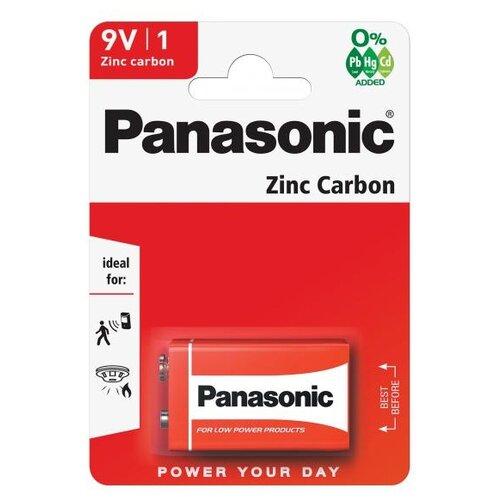 Фото - Батарейка Panasonic Zinc Carbon Крона/6F22 1 шт блистер батарейка космос 6f22 крона