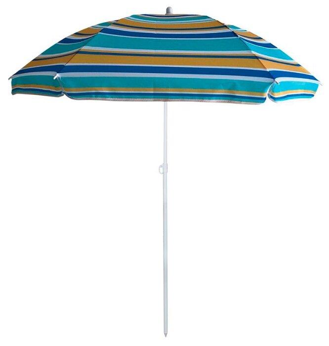 Пляжный зонт ECOS BU-61 купол 130 см, высота 170 см