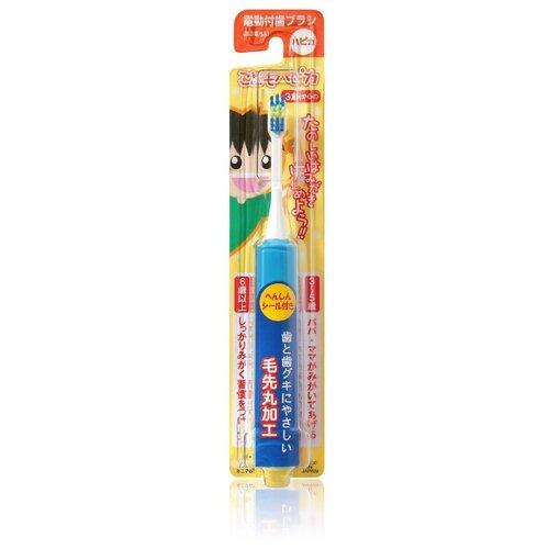 Звуковая зубная щетка Hapica Kids, синий