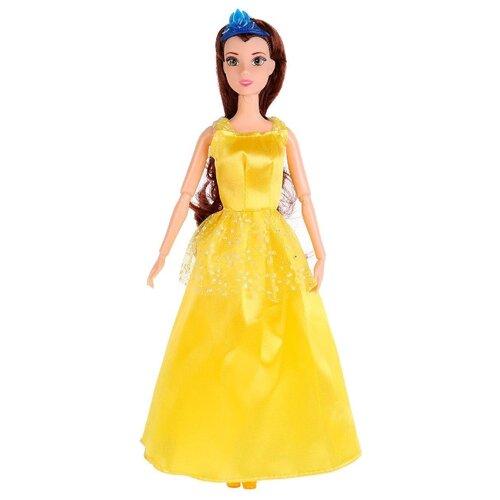 Кукла Карапуз София Принцесса в желтом платье, 29 см, P03103-3-S-KB кукла карапуз герда 29 см снежная королева в голубом платье карапуз