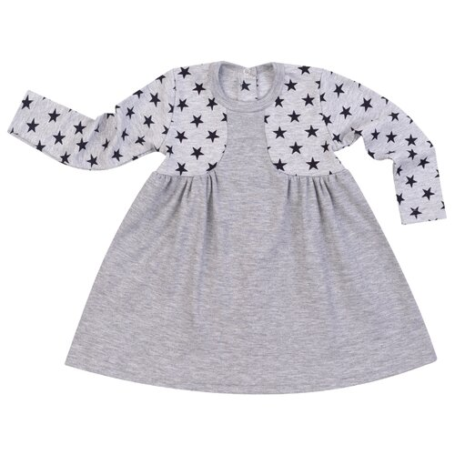 Платье Утенок размер 110, серый, Платья и сарафаны  - купить со скидкой