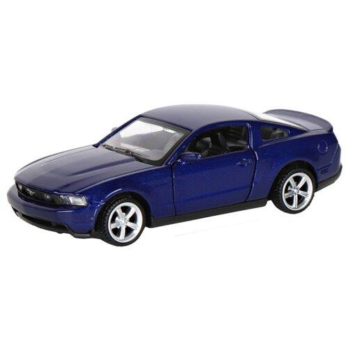 Купить Легковой автомобиль Автопанорама Ford Mustang GT (J12276/JB1200129) 1:43 11.5 см синий, Машинки и техника