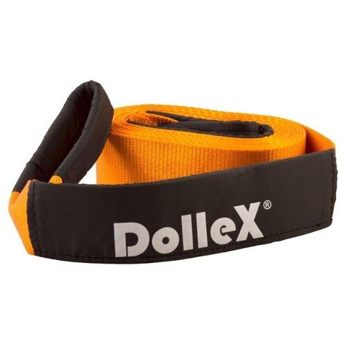 Динамический строп Dollex TD-075 (6 м) (7 т) черный/оранжевый строп tor wll1 0 0 5t 6 m