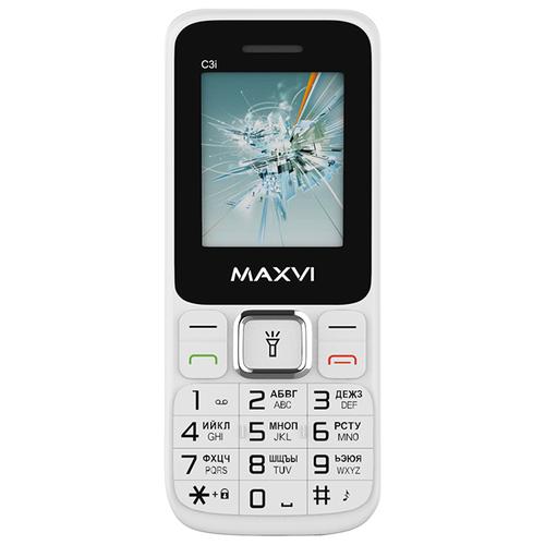 Телефон MAXVI C3i белый