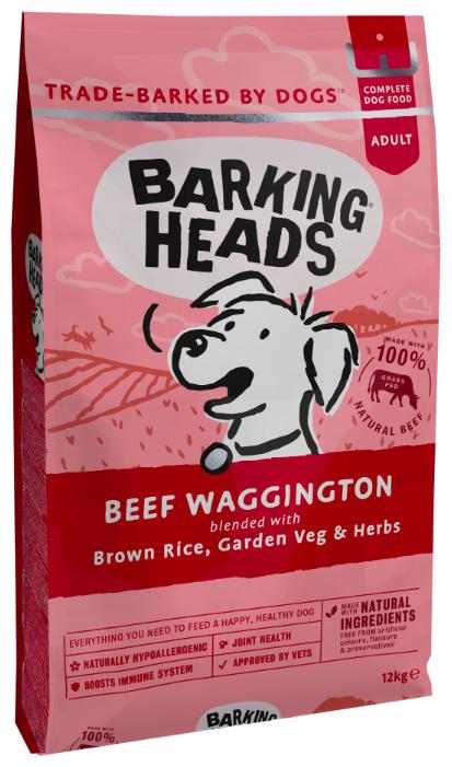 Корм для собак Barking Heads Beef Waggington