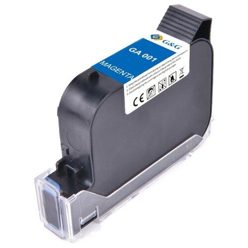 Фото - GA-001M струйный пигментный пурпурный картридж для принтеров GG-HH1001B, GG-HH1001A, 42 ml клей аквенс ga 6642 gel aquence ga 6642 gel 20 кг