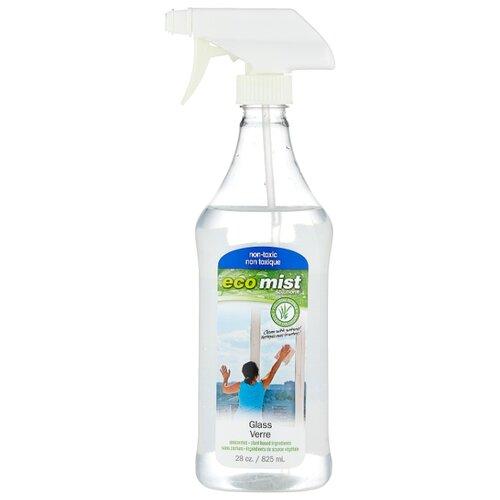 Спрей Eco mist Glass для окон и стеклянных поверхностей (триггер) 825 мл eco mist средство для чистки мебели и уборки в кабинете 0 825 л